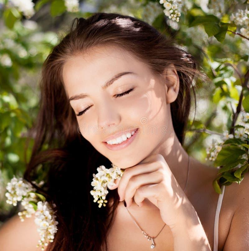 Download Beautiful woman stock photo. Image of green, girl, caucasian - 25196374