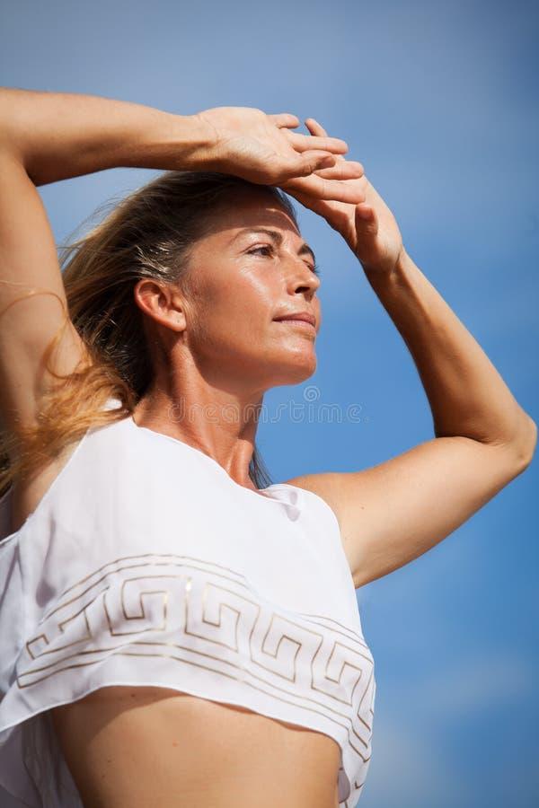 Download Beautiful Woman stock photo. Image of bikini, looking - 26390178