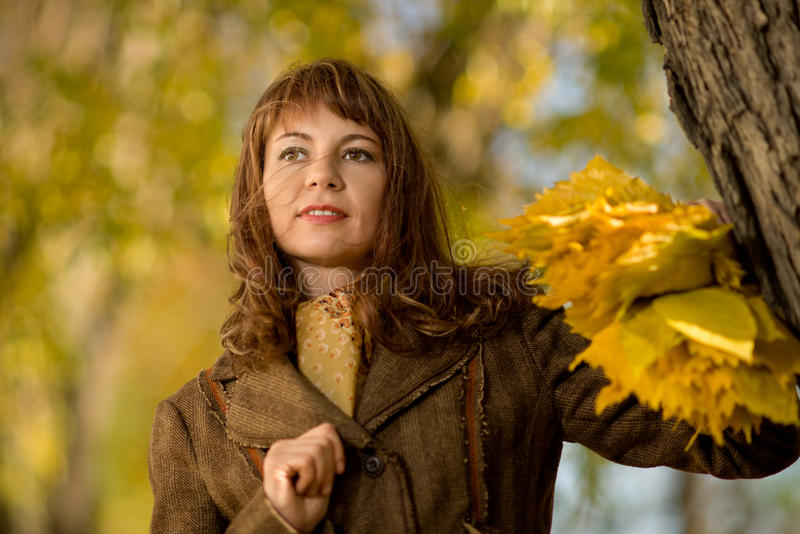 Download Beautiful woman stock image. Image of female, alley, cute - 27511211