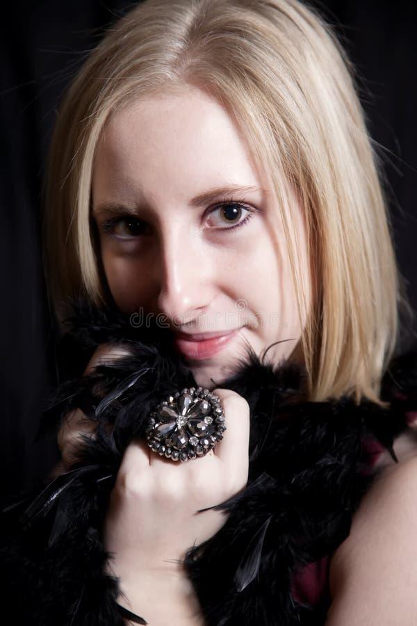 Download Beautiful Woman stock image. Image of smile, teeth, black - 27685693
