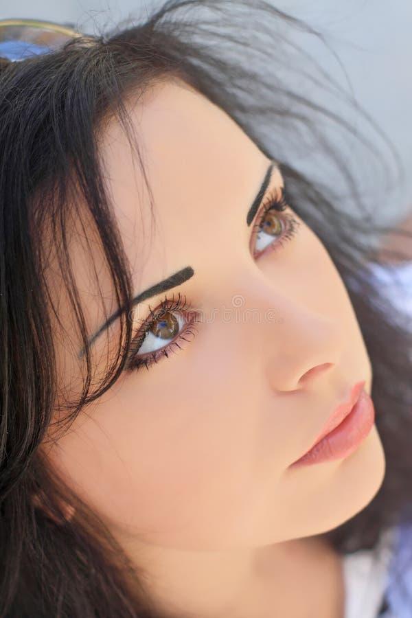 Download Beautiful woman stock image. Image of facial, portrait - 28000013