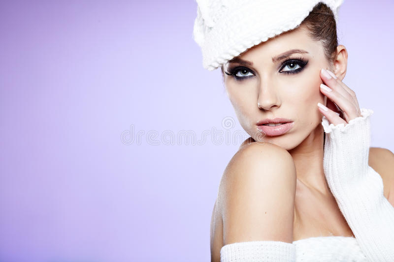 Download Beautiful woman stock image. Image of happiness, people - 28104297