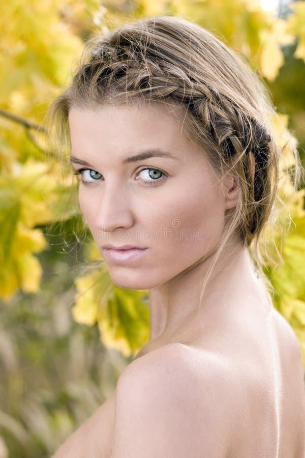 Download Beautiful Woman stock photo. Image of lady, autumnal, cute - 8754932
