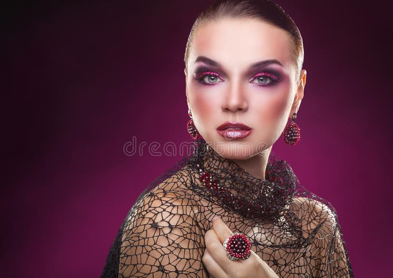 Beautiful woman royalty free stock photos