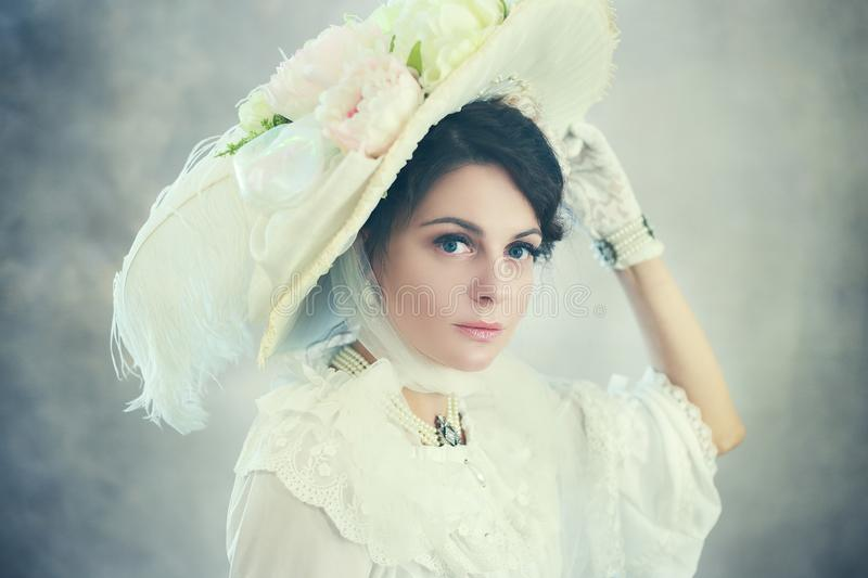 Victorian woman royalty free stock images