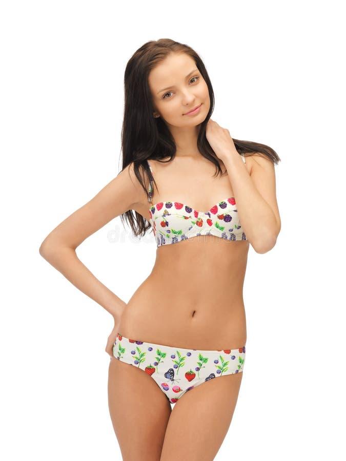 Download Beautiful woman in bikini stock photo. Image of good - 25537650