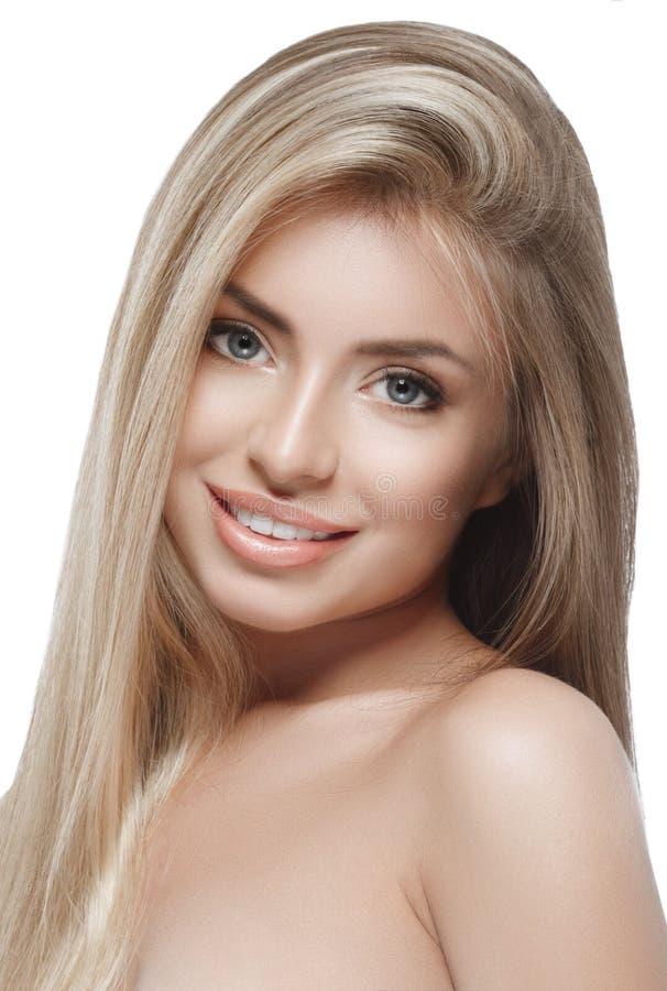 Free Beautiful Woman Blond Portrait Face Studio Royalty Free Stock Image - 66359156