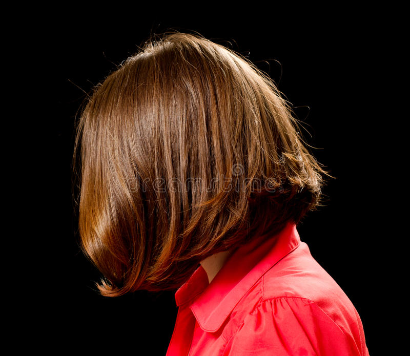 Download Beautiful Woman With Bob Haircut Stock Image - Image: 22914339