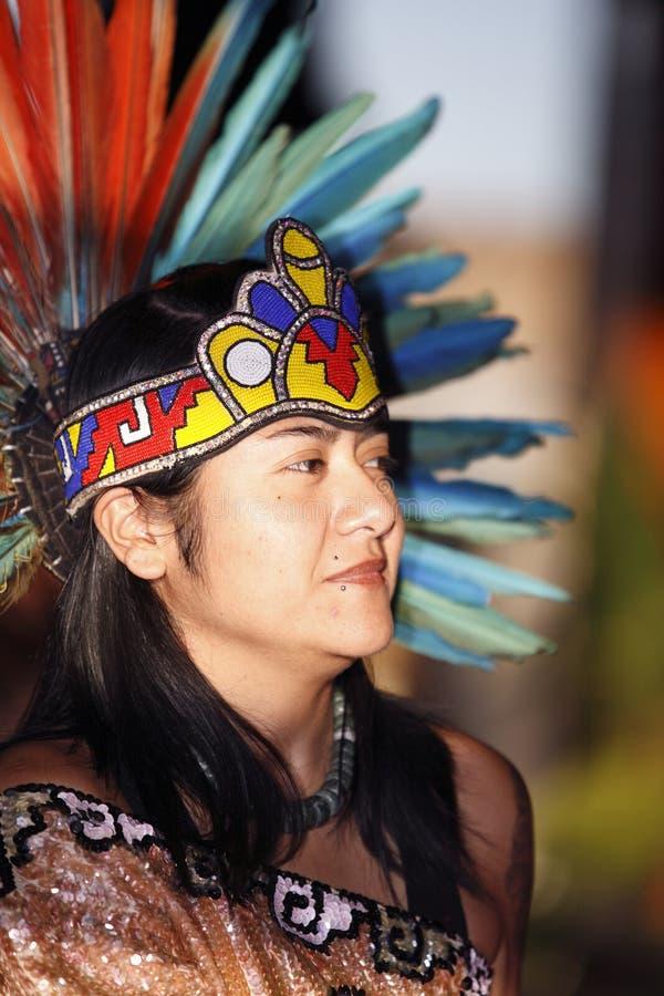 Beautiful woman dancer royalty free stock image