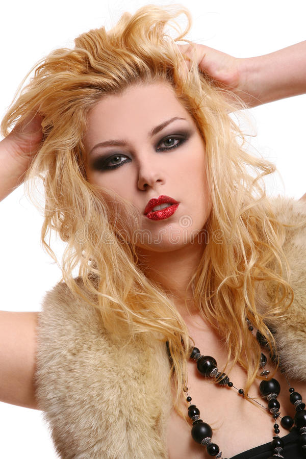 Download A Beautiful Woman In Diva Image Stock Photo - Image: 11326910