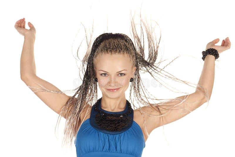 Download Beautiful Woman With Dreadlocks Stock Photo - Image: 12363958
