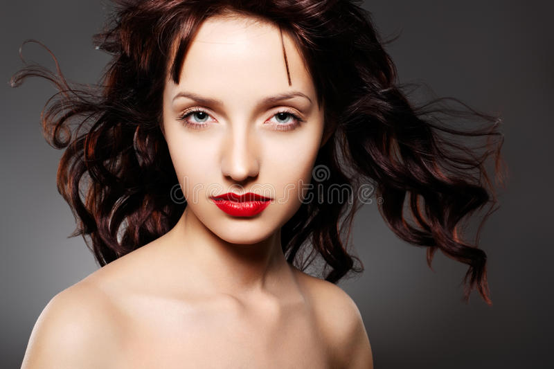 Download Beautiful Woman With Evening Make-up Stock Photo - Image: 14233148