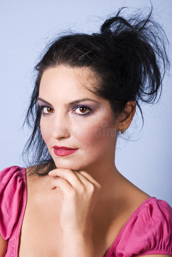 Download Beautiful Woman Face Makeup Stock Photo - Image of beautiful, adult: 10827278