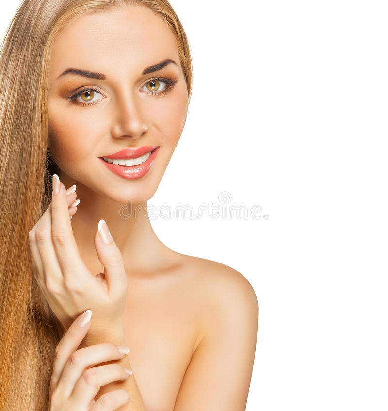 Beautiful woman stock images
