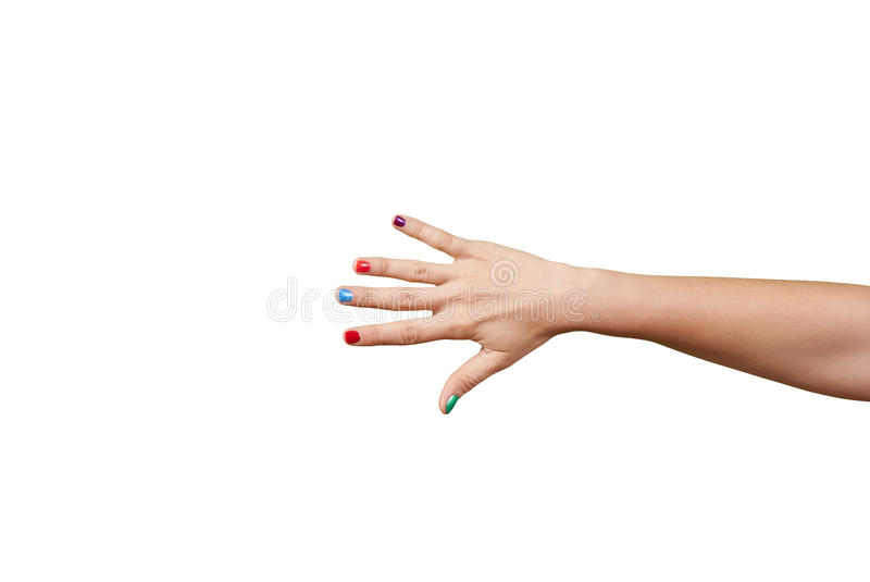 Download Beautiful Woman Hand With Manicure Stock Photo - Image: 26477614