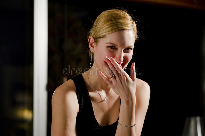 Download Beautiful Woman Laughing stock image. Image of color - 26572845
