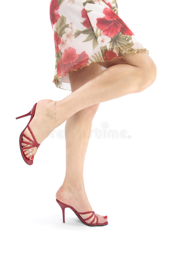 Free Beautiful Woman Legs And Heels Royalty Free Stock Images - 13114529