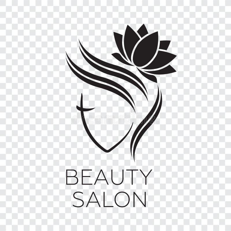 Beautiful woman logo template for hair salon logo stock download beautiful woman logo template for hair salon logo stock illustration illustration of line altavistaventures Images