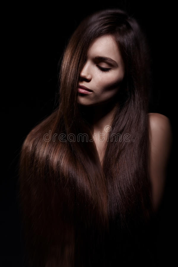 Download Beautiful Woman With Long Hair Stock Photo - Image: 22789776