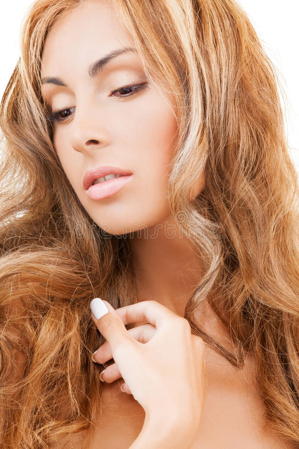 Download Beautiful Woman With Long Hair Stock Image - Image: 34393615