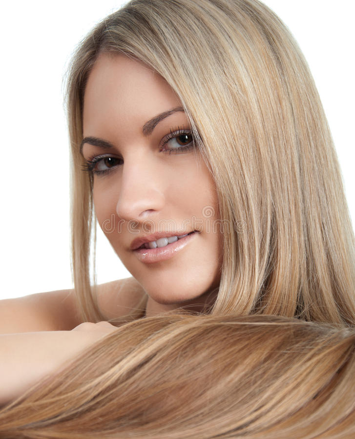 Beautiful Woman With Long Hairs Royalty Free Stock Photo