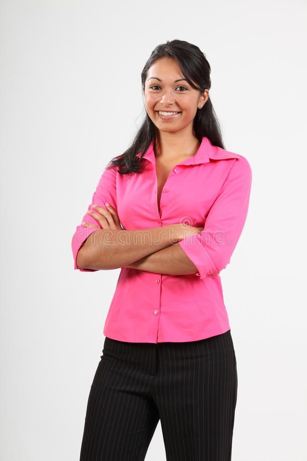 Download Beautiful Woman With Lovely Smile Dressed Stylish Stock Photos - Image: 16671953
