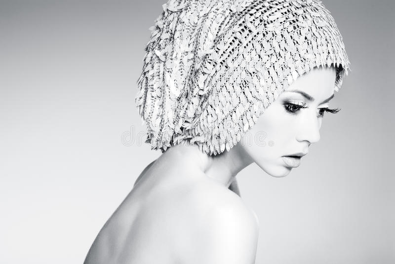 Download Beautiful Woman Model Posing Dramatic Royalty Free Stock Photo - Image: 28980955