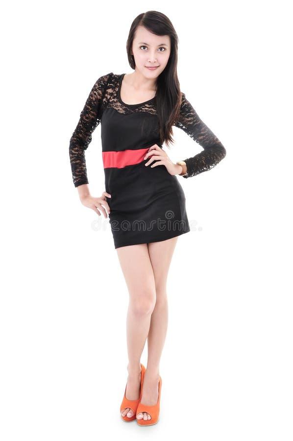 Download Beautiful Woman Model Posing In Elegant Dress Stock Image - Image: 36054553