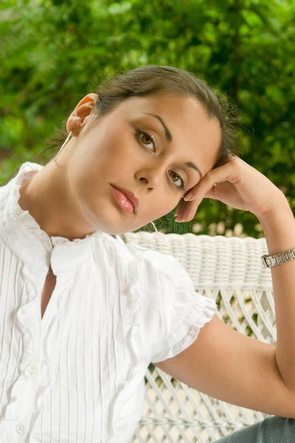 Beautiful Woman Portrait 1 stock photography