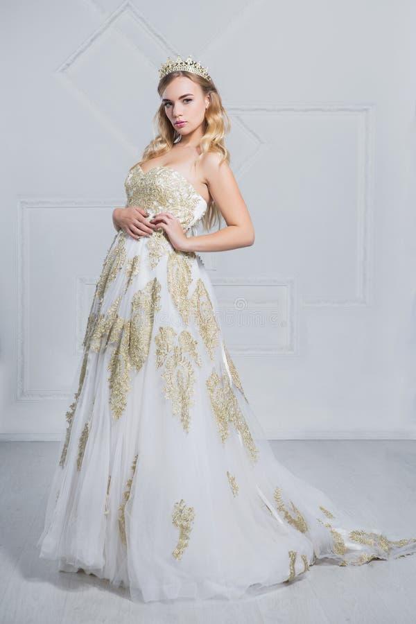 Beautiful woman posing in the studio royalty free stock photos