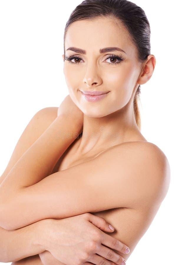 Download Beautiful Woman Posing Topless Stock Photo - Image: 28550094