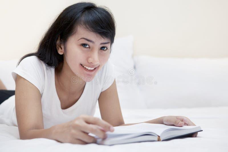 Download Beautiful Woman Reading Book Stock Photo - Image: 25394328