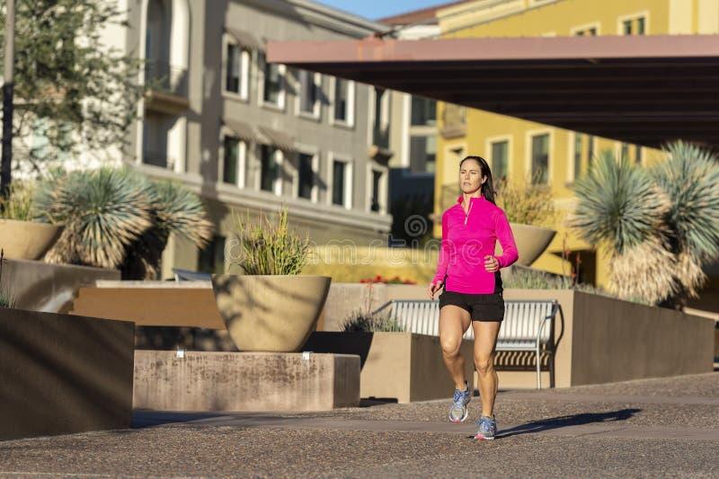 Beautiful Woman running stock photos