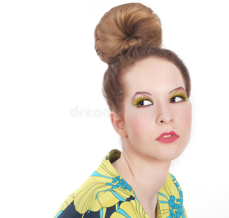 Download Beautiful woman's face stock image. Image of freshness - 19956015