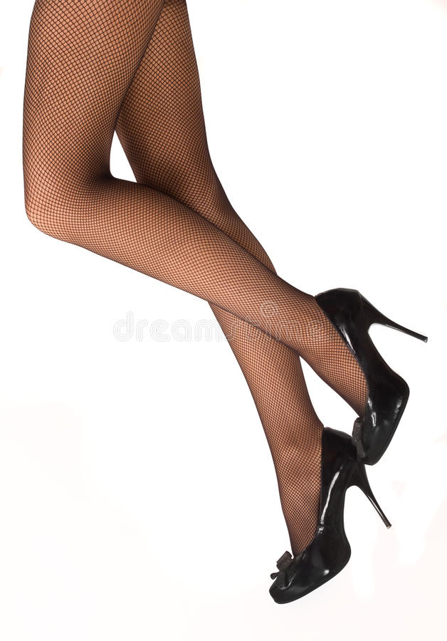 Download Beautiful Woman's Legs In Tights And Shoes Stock Photo - Image: 18028532