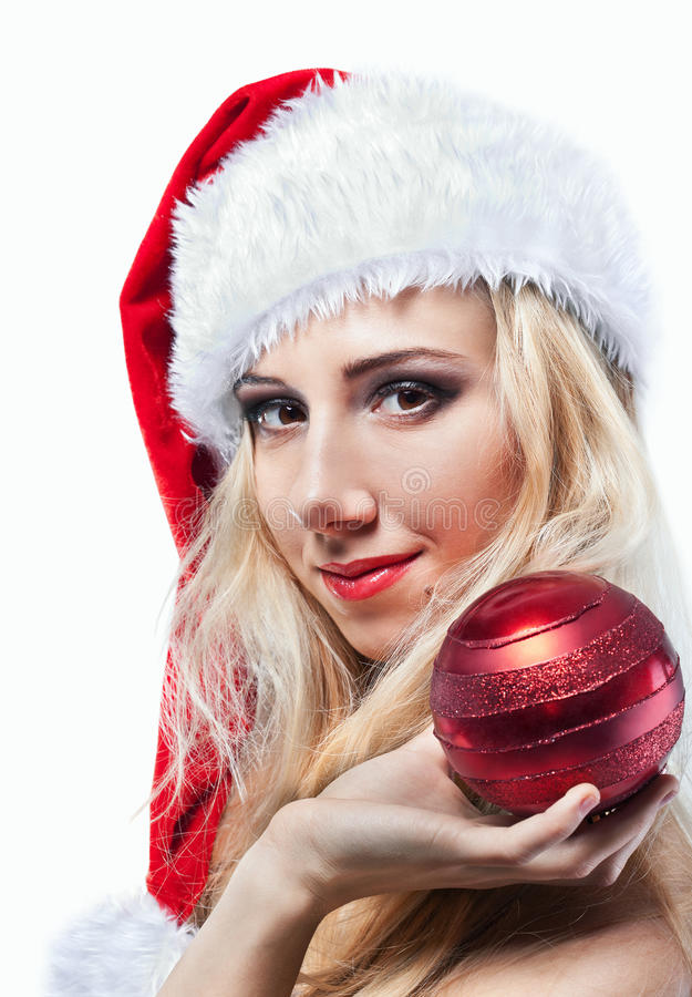 Download Beautiful  Woman In Santa Clause Costume Royalty Free Stock Photo - Image: 37862755