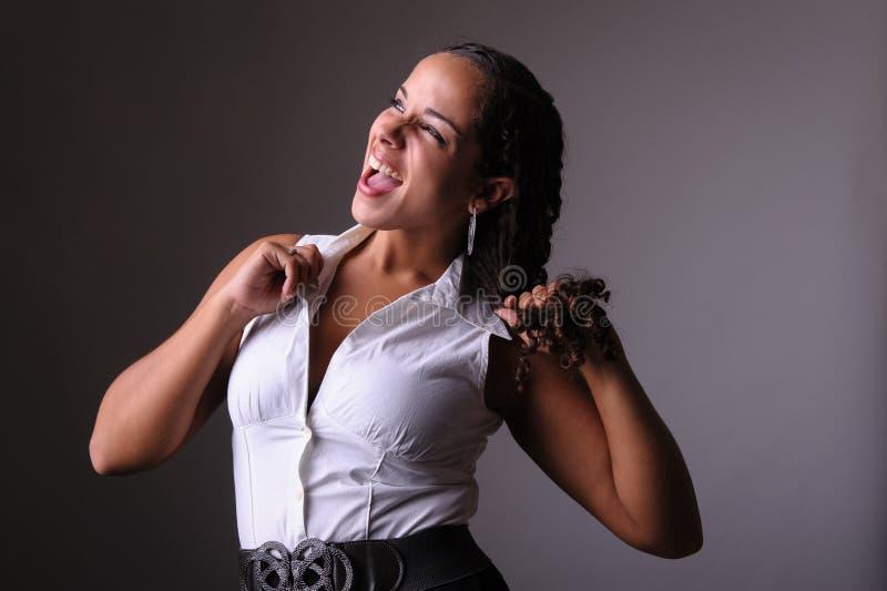 Download Beautiful woman screaming stock image. Image of entrepreneur - 27565285