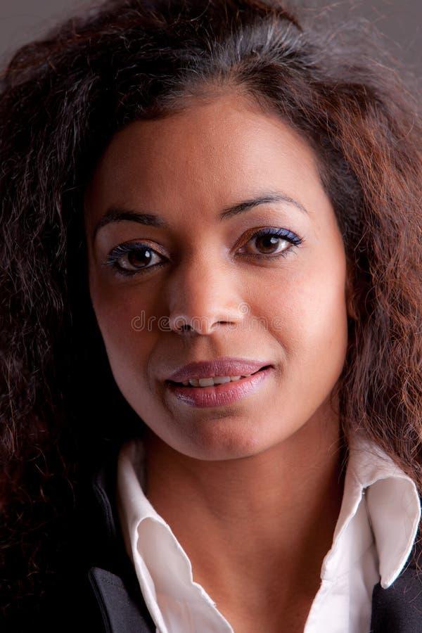 Beautiful woman self confident royalty free stock image