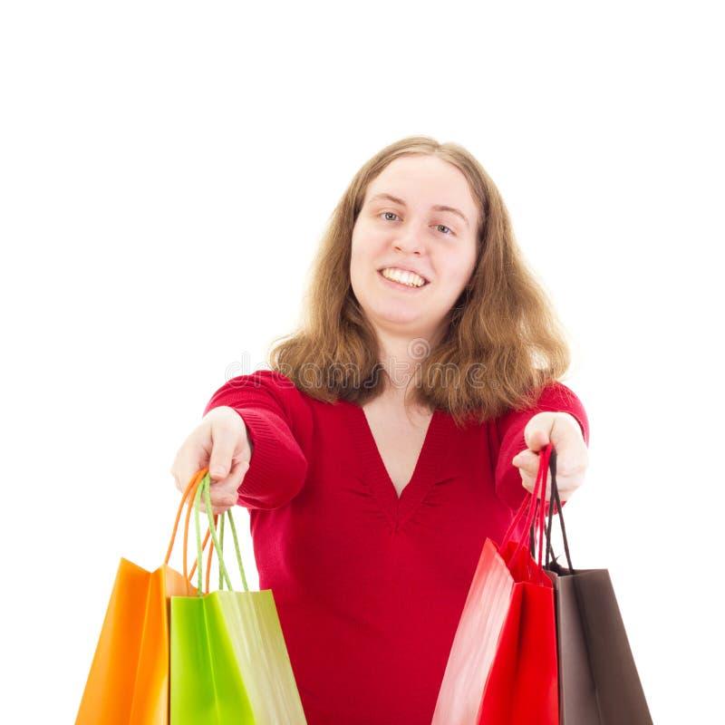 Download Beautiful Woman On Shopping Tour Stock Image - Image: 30396793
