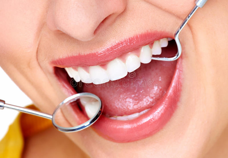 Download Beautiful woman smile. stock image. Image of hygiene - 35579799