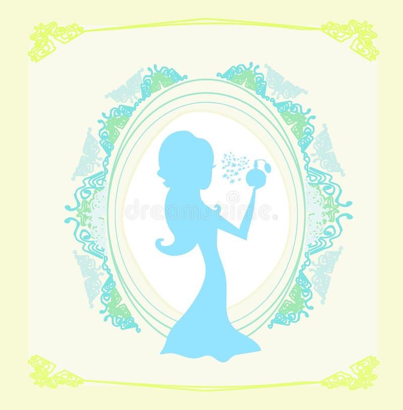 Download Beautiful Woman Spraying Perfume Stock Photos - Image: 25521233