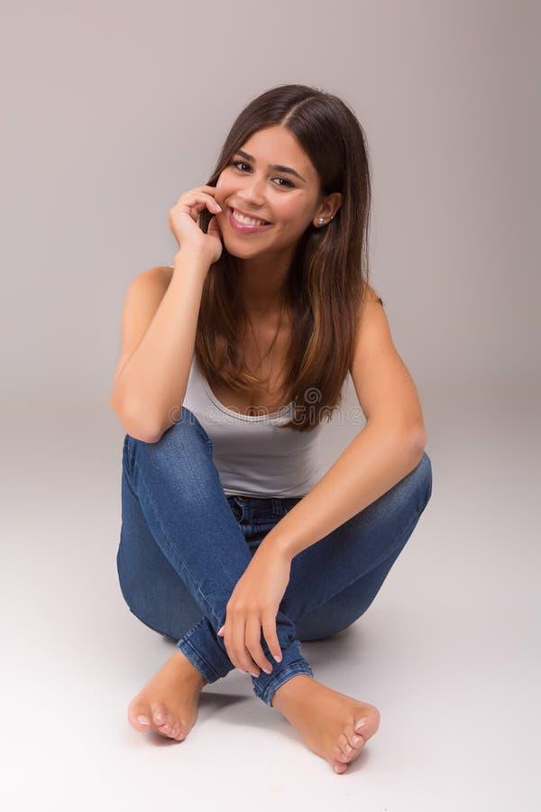 Beautiful woman royalty free stock photos
