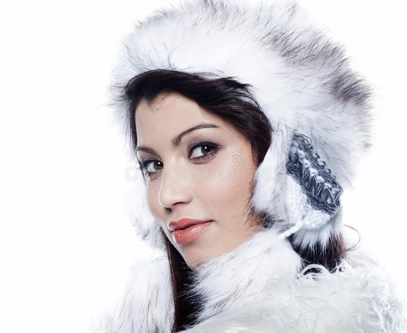 Download Beautiful Woman In Warm Clothing Stock Photo - Image: 22767642