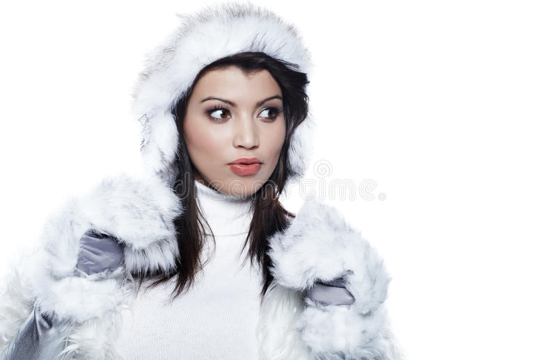 Download Beautiful Woman In Warm Clothing Stock Photo - Image: 22767812