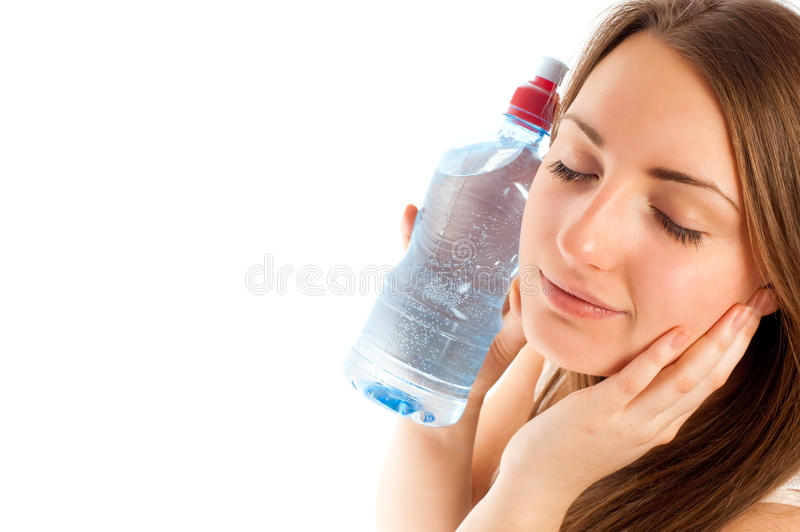 Download Beautiful woman with water stock photo. Image of healthcare - 17340984