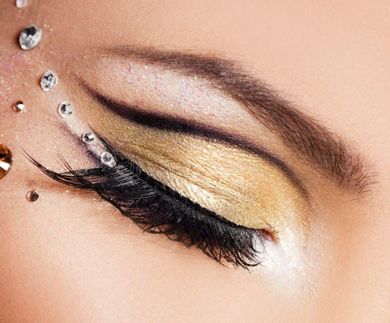 Download Beautiful womanish eye stock image. Image of facial, cosmetic - 29279493