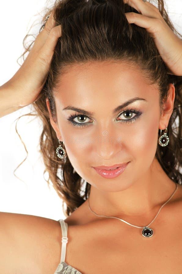 Beautiful women royalty free stock photos