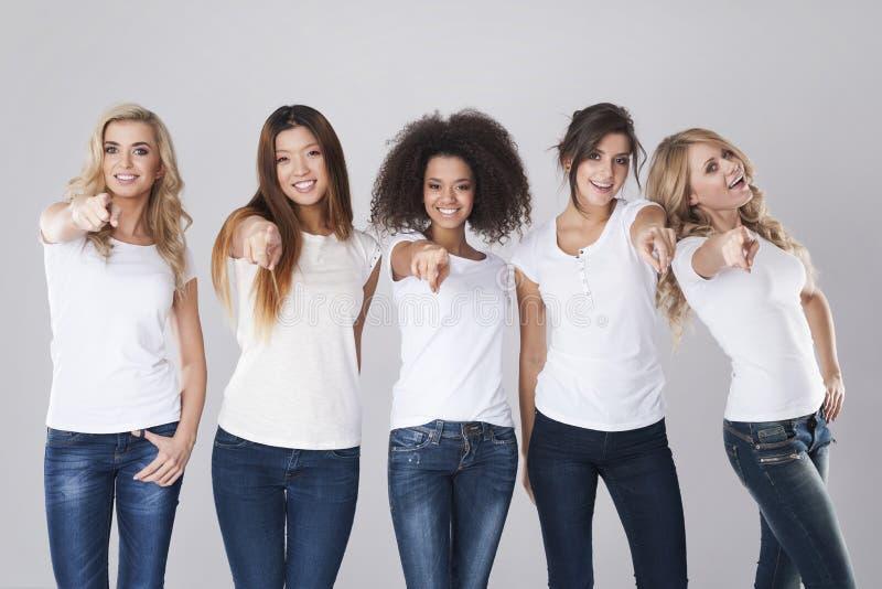 Beautiful women royalty free stock image