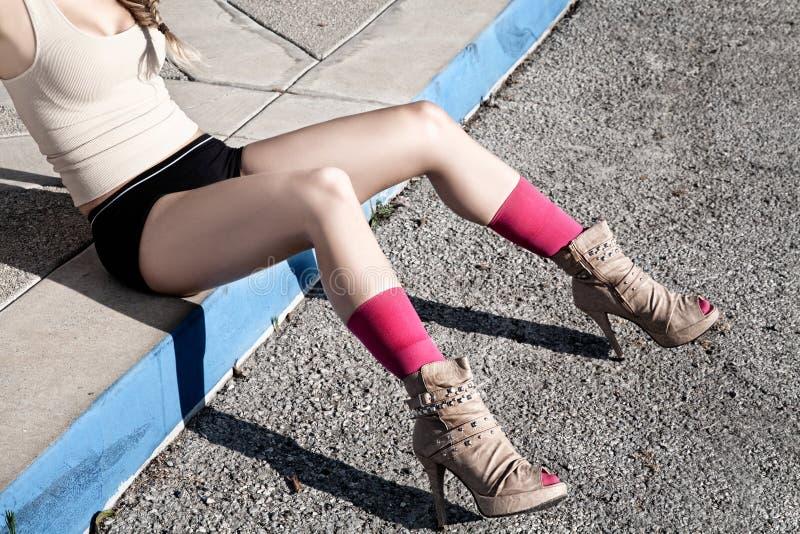 Beautiful Women Legs royalty free stock photos
