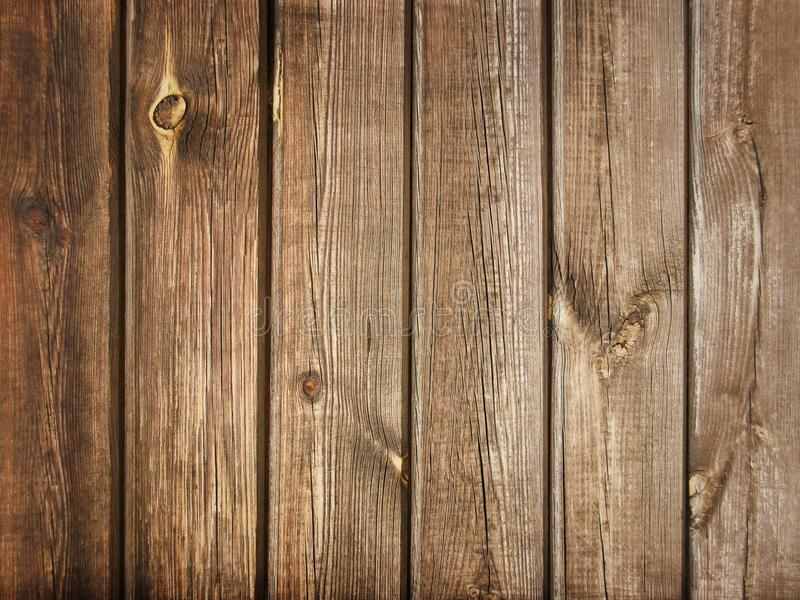 Vintage Wood Planks Floor or Wall Background Texture stock photo